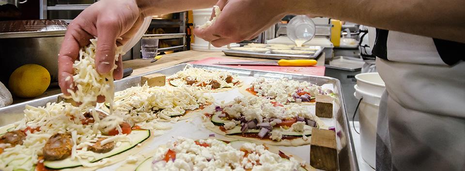 Pizzaiolo en chef, Andy Corcorani